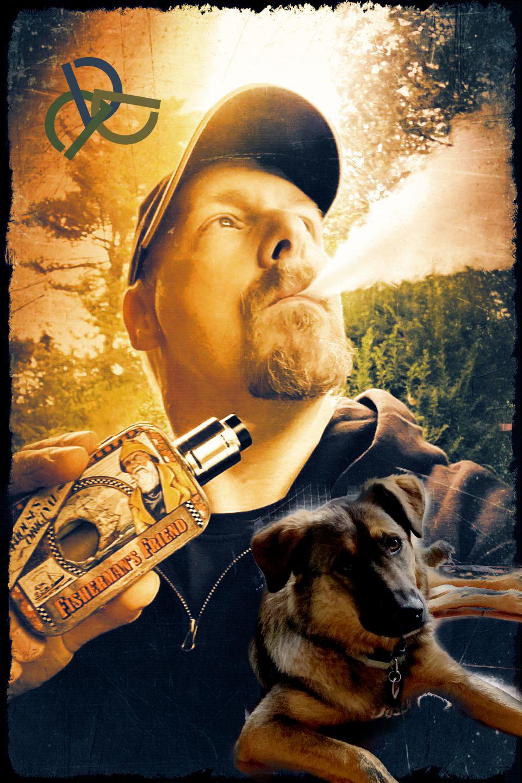 ich und mein Hund und meine Dampfdose