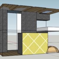 Entwurf 1 des Grundriss