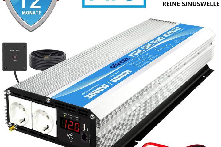 Wechselrichter mit 3000 Watt