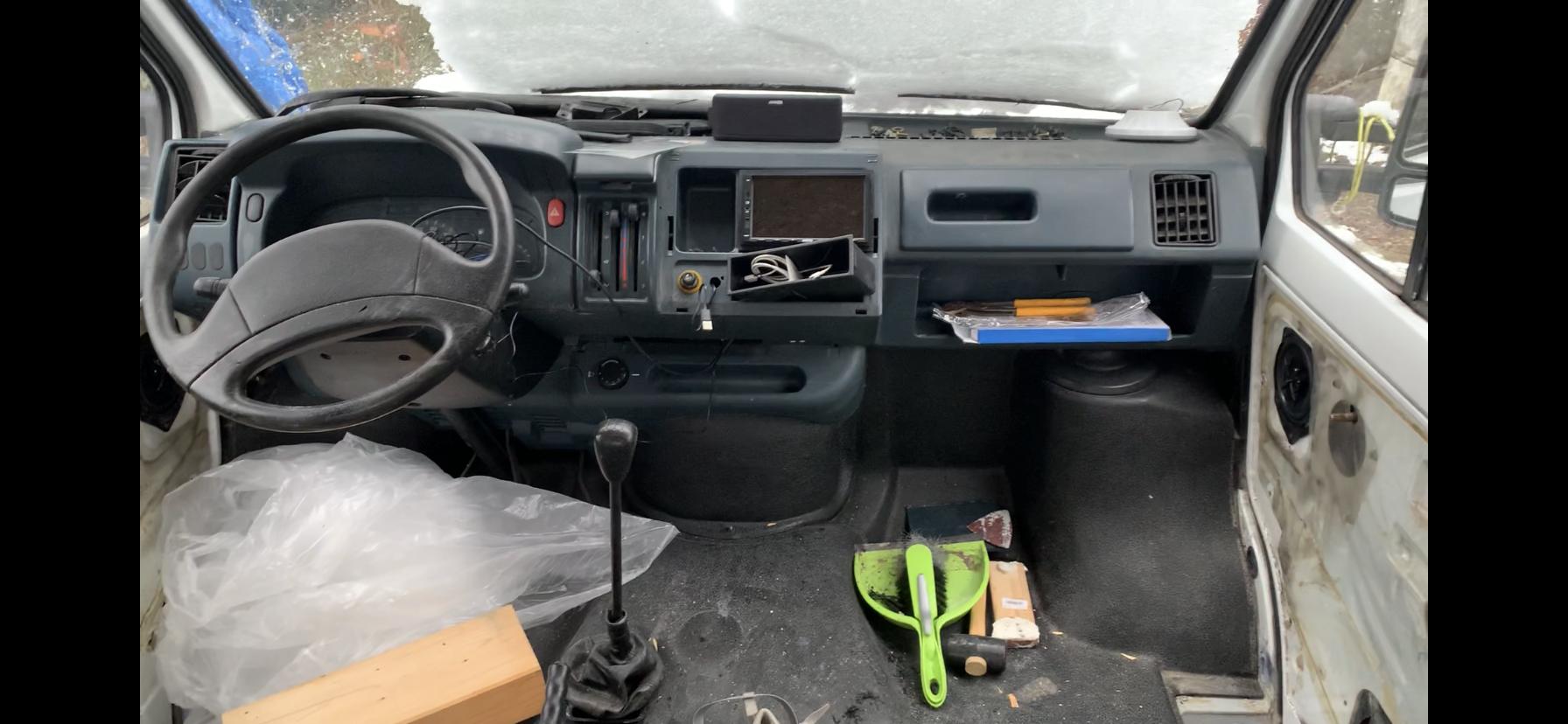 Ablagefach für alten Radioschacht