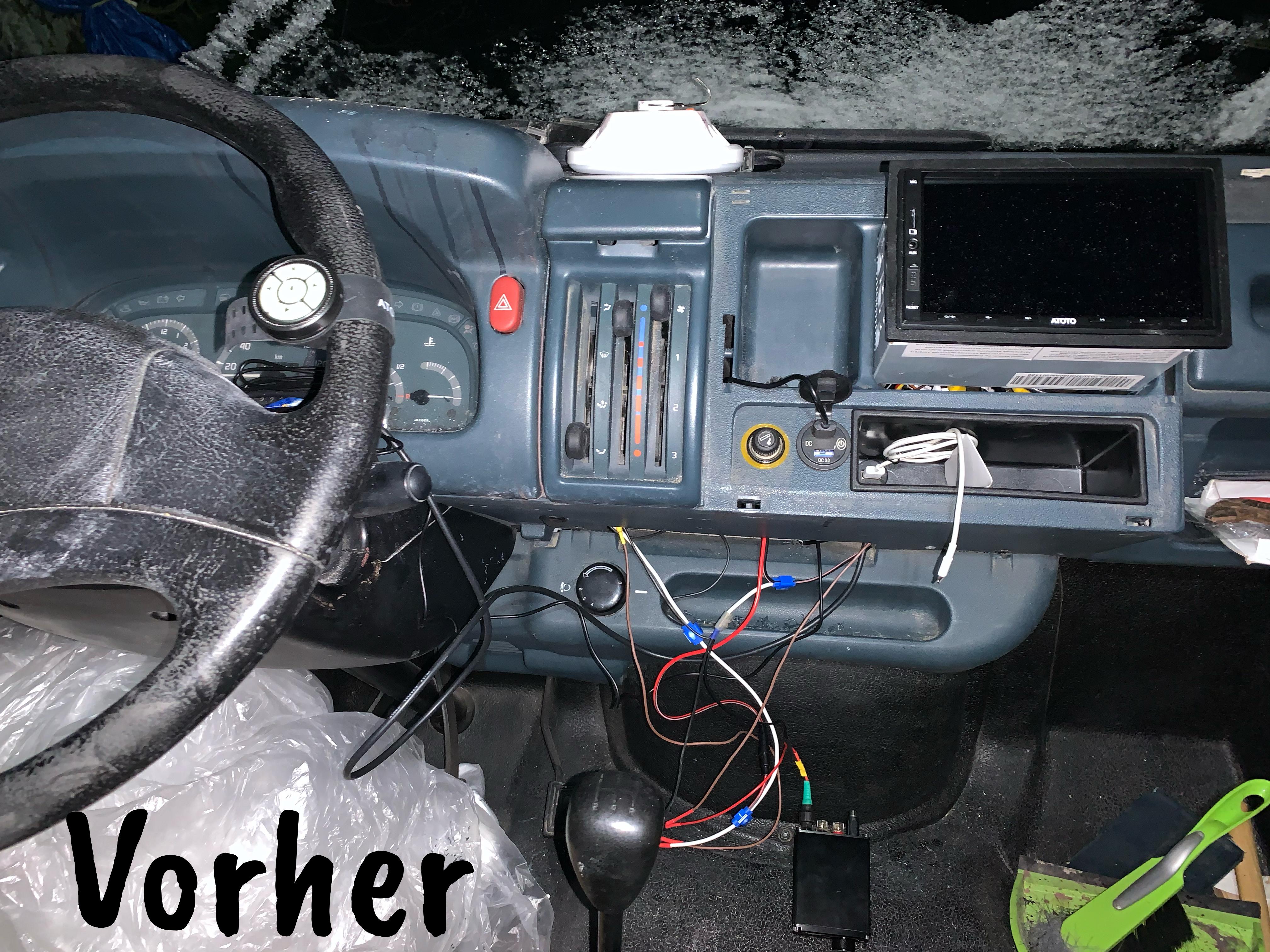 Radio, etc. installiert