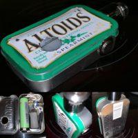 Die Altoids Spearmint Dose ist jetzt ein 1s 21700 squonker mod