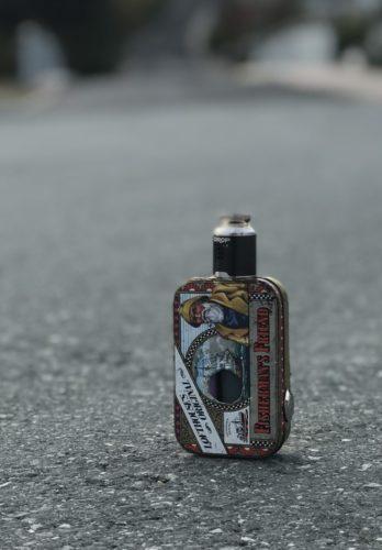 Fisherman´s Friend single battery squonker mod