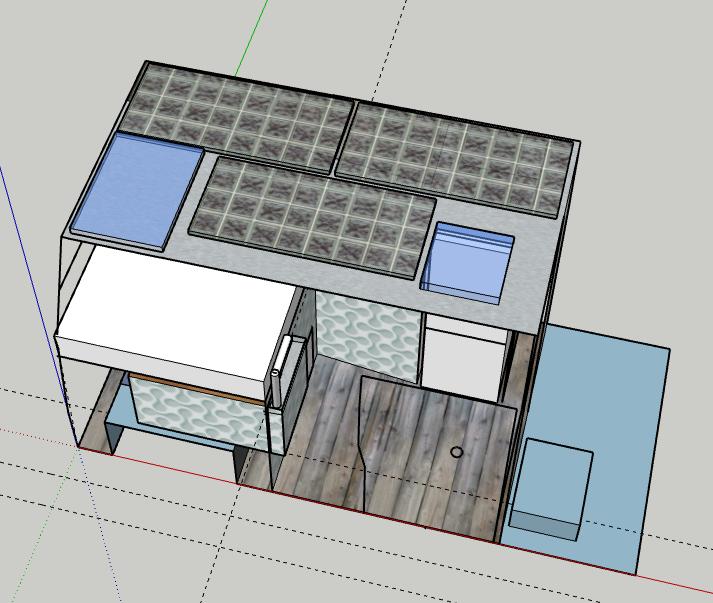 480W Solar und zwei Dachfenster